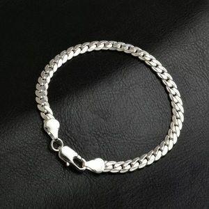 Jewelry - 925 Women Sterling Silver 5MM Bracelet
